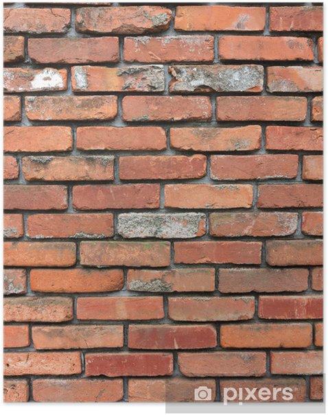 Plakat Ceglane mury - Tła