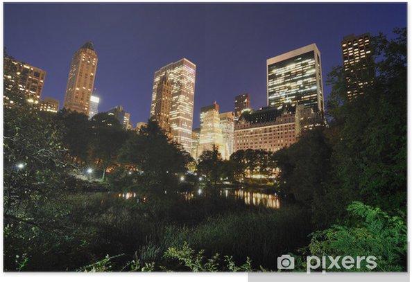 Plakát Central Park na Twilight - Americká města