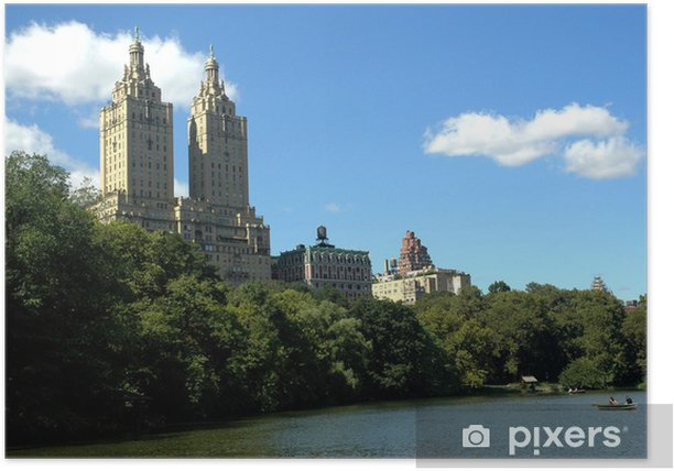 Plakat Central Park, Nowy Jork 02 - Miasta amerykańskie