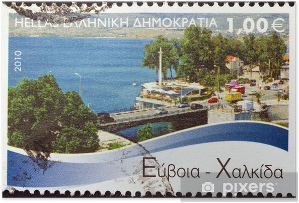 Plakat Chalcis, Evia (Grecja 2010) - Europa