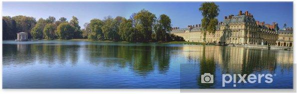 Plakat Chateau fontainebleau - Europa