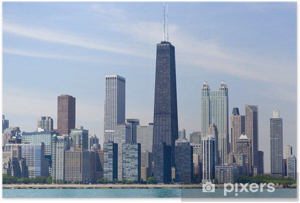 Plakát Chicago skyline - Témata