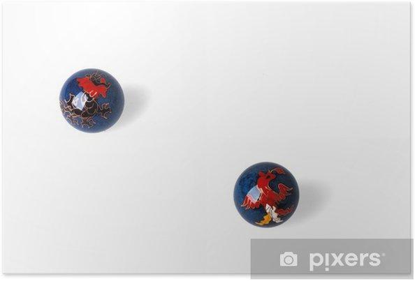 Plakat Chińskich kulki - Gry