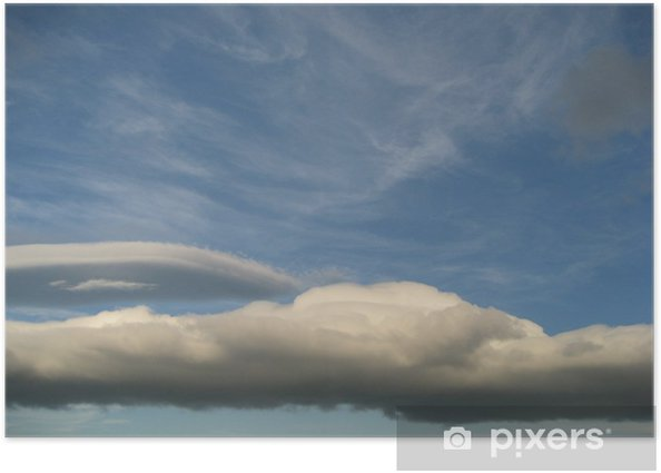 Plakat Chmura Kiwi - Niebo