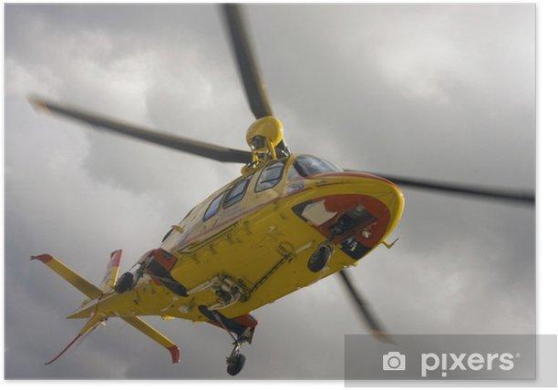 Plakat Chopper Copter - Transport powietrzny