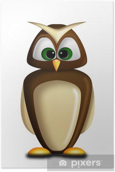 Plakát Chouette - Ptáci