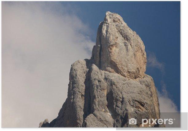 Plakat Cimon della Pala - Góry