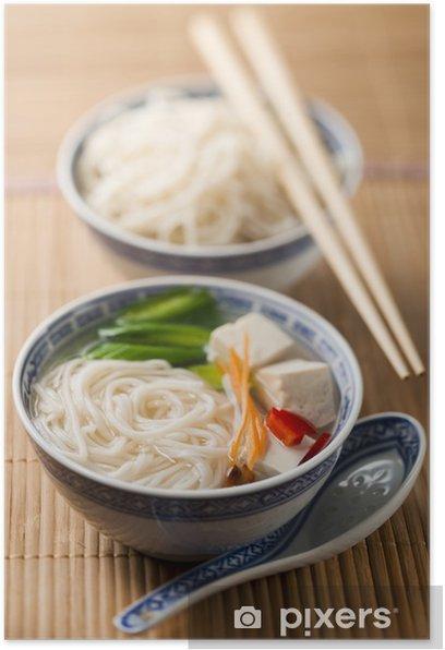 Plakát Čínská polévka - Jídla