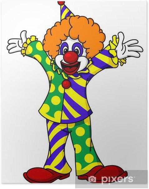 Plakát Cirkus klaun - Zábava
