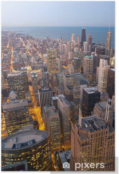 Plakat City of Chicago. - Ameryka