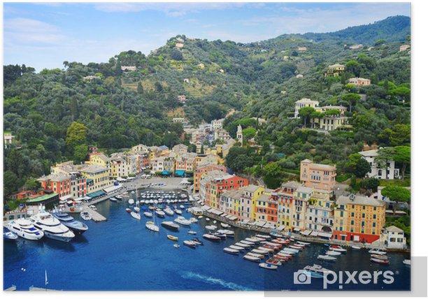Plakát City of Portofino, Liguria, Itálie - iStaging