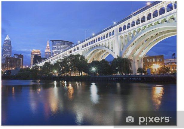 Plakát Cleveland panorama - Jiné