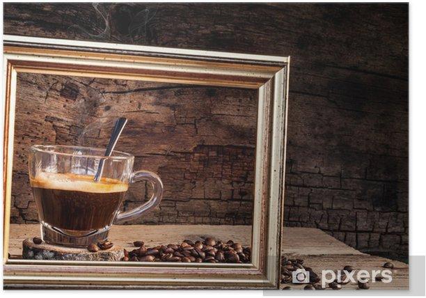 Plakat Clipart coffee - Gorące napoje