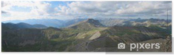 Plakat Col de la Bonnette - Góry