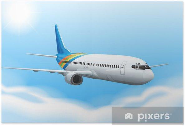 Plakat Commerical samolot - Tematy