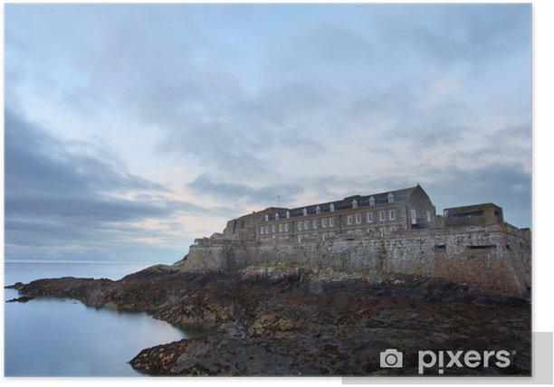 Plakat Cornet Castle Guernsey - Europa