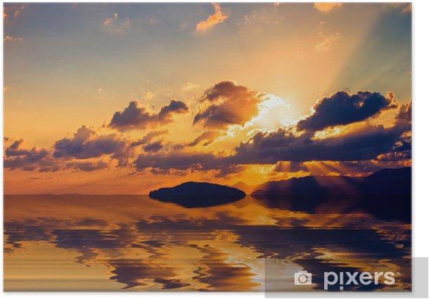 Plakat Cretan sunrise. - Europa
