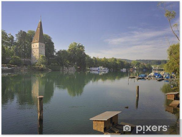 Plakat Crooked wieża Solothurn - Wakacje