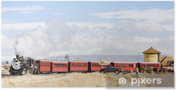 Plakát Cumbres a Toltec úzkorozchodná železnice, Antonito, Colorado, USA - Témata