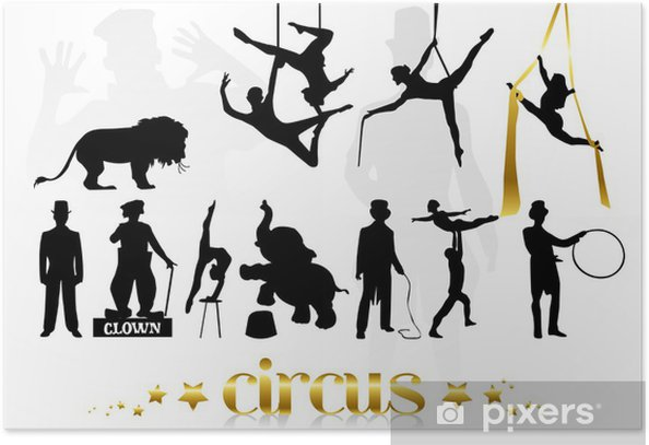 Plakat Cyrk - Rozrywka