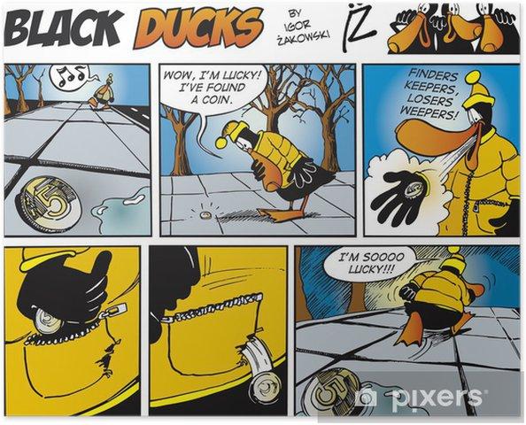 Plakat Czarny Ducks Comics episode 71 - Ptaki