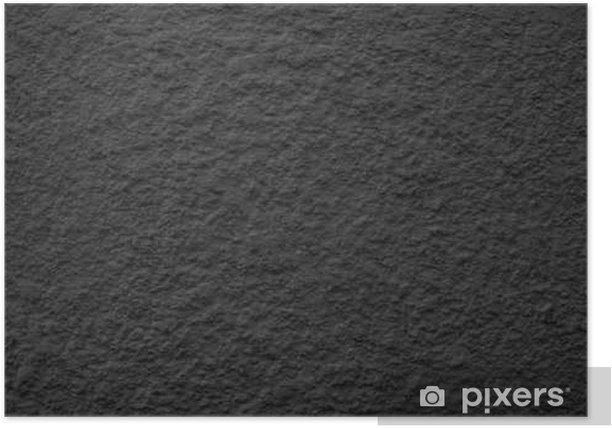 Plakat Czarny Dusty Scratchy Textured wall - Old vintage grunge. - Zasoby graficzne