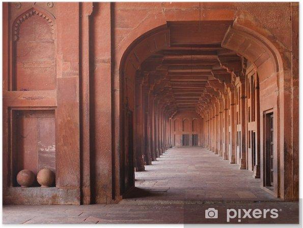 Plakat Czerwone Archways w meczecie - Tematy