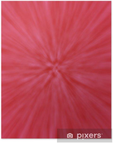 Plakat Czerwone tło - Tła