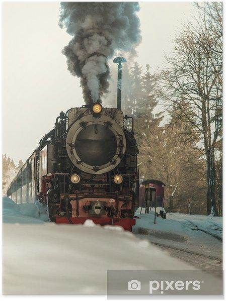 Plakát Dampflok - Prázdniny