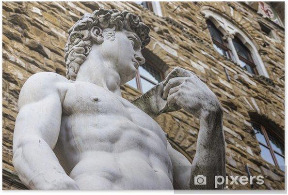 Plakat Dawid Michała Anioła - Europa