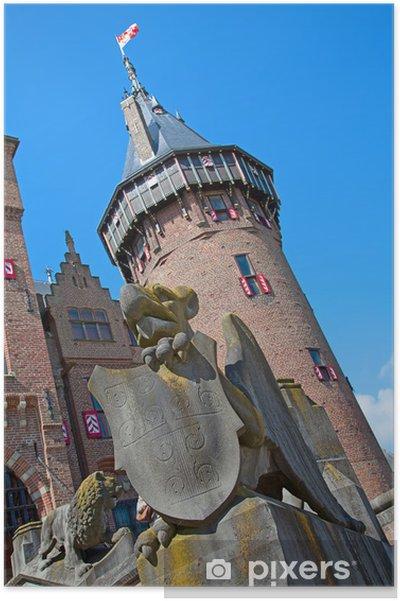 Plakát De Haar hrad - Evropa