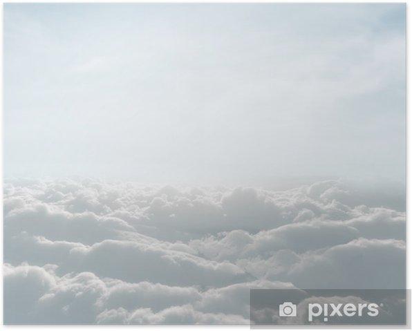 Plakat Definicja z wysokiej skyscape chmur - Tematy