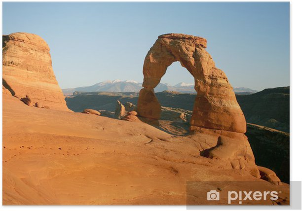 Plakat Delicate Arch - Pustynie