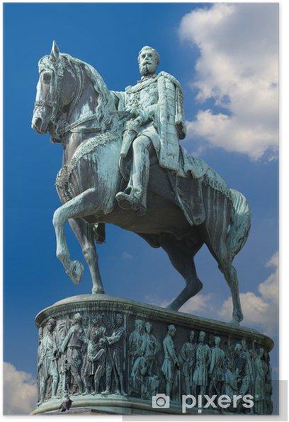 Plakát Denkmal DES Fürsten Mihailo Obrenovičů - Evropa