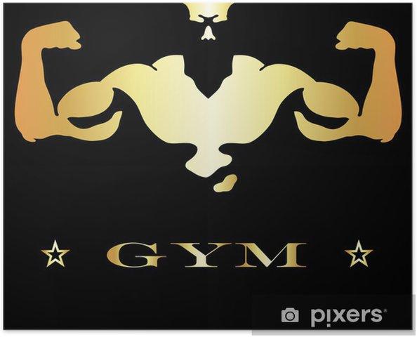 Plakát Design pro posilovny a fitness - Individuální sporty