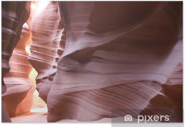 Plakat Detail Antelope Canyon, Utah - Ameryka
