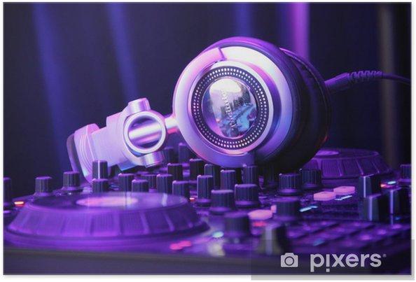 Plakát Digitální DJing - Hudba