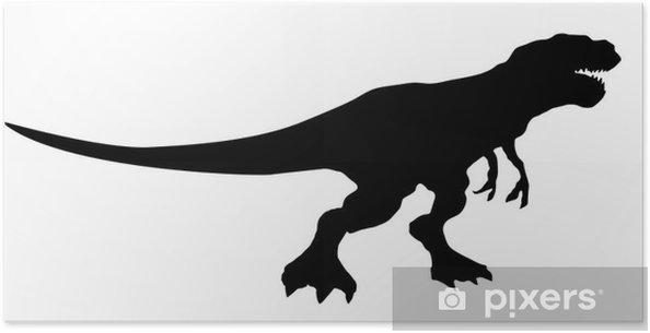 Plakat Dinosaurio - Naklejki na ścianę