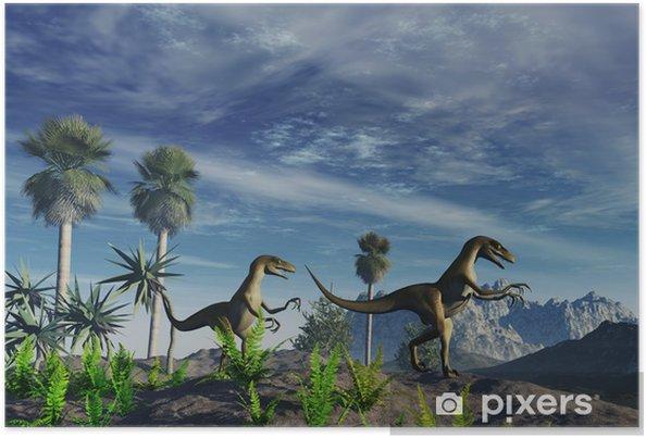 Plakat Dinosaurios - Tematy