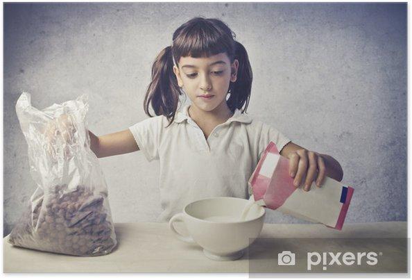 Plakát Dítě S Snídaně - Témata