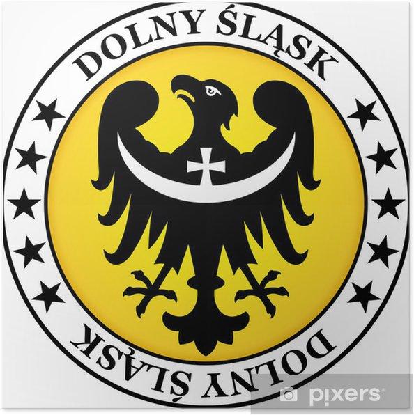 Plakat Dolny Śląsk - Miasta europejskie
