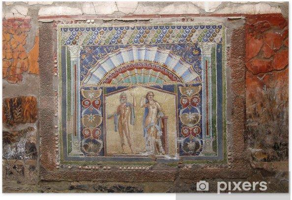 Plakat Dom Neptuna i Afrodyty, Herkulanum - Europa
