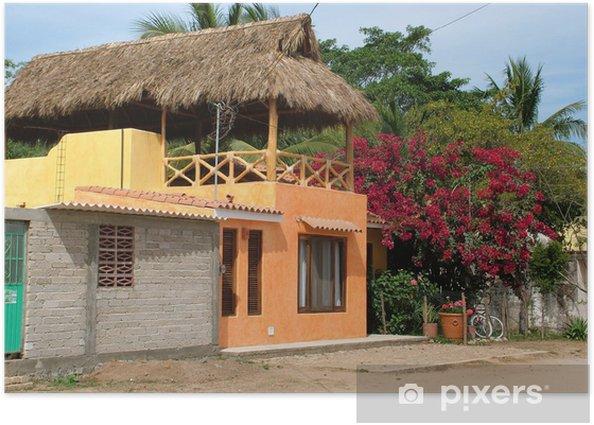 Plakat Dom pomarańczowy San Pancho - Dom i ogród