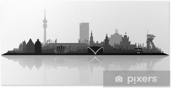 Plakát Dortmund City - Evropa
