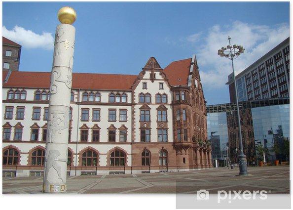Plakat Dortmund - Sklepy