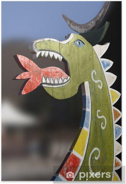 Plakát Drago legno - Národní svátky
