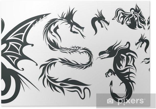 Plakát Dragon Tatto - Criteo