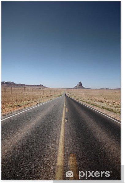 Plakat Droga prowadząca do horyzontu - Tematy