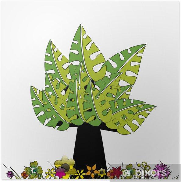 Plakat Drzewo - Ekologia