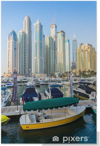 Plakat Dubai Marina. Zjednoczone Emiraty Arabskie - Inne